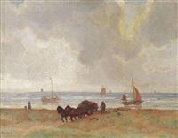 in the dunes, katwijk by willy sluijter