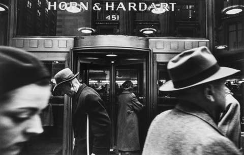 horn and hardart new york by william klein