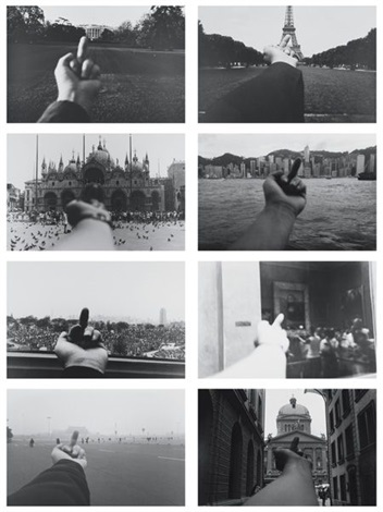 perspective study in 8 parts by ai weiwei