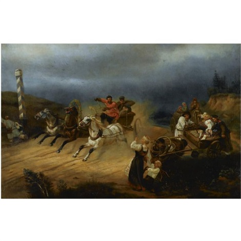 racing troika by s yakovlev