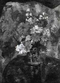 blumen auf einem tisch by erika abels-d'albert