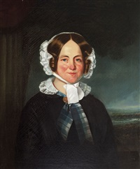 portrait of caroline archer by henry mundy