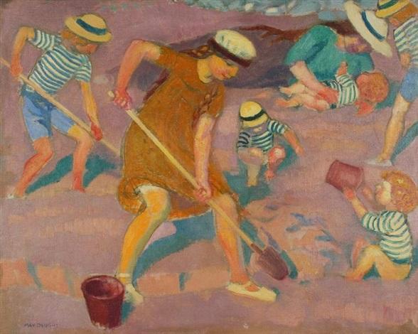 jeux sur le sable by maurice denis