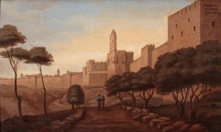 davids citadel jerusalem by yacov gabay