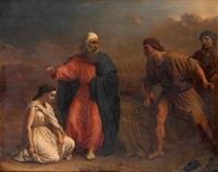escena de ruth by jean-léonard lugardon