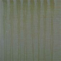 untitled (grey) by ian davenport
