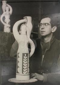 jean derval dans son atelier by andré villers