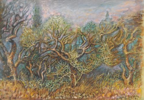 trees by nicolas ghika