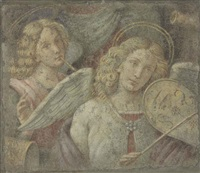 angels making music by bernardino luini