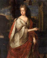 portrait of sophia of palatine, later wife of ernst august, elector of hanover by jacques vaillant