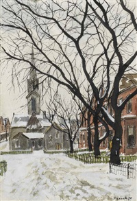 mitchell avenue by albert jacques franck