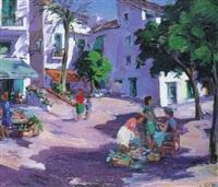 plaza de pueblo by eduard vial hugas