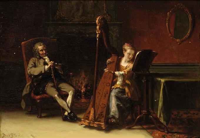 the recital: le grand père et la petite fille by david joseph bles