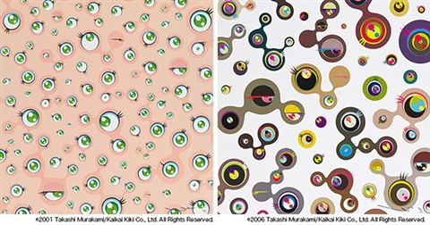 1 jellyfish eyes 2 jellyfish eyes white 4 2 works by takashi murakami