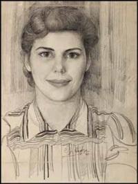 portrait of joan elise cummins by edward john hughes