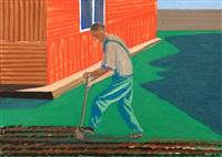 prace w ogródku by jaroslaw modzelewski