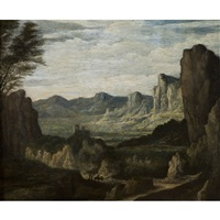 paysage de montagne by johannes ruyscher