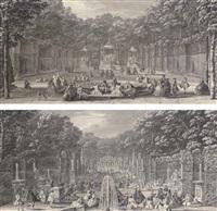 les bains d'apollon (+ l'arc de triomphe; pair) by jacques rigaud