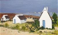 cabanes de guardians en camargue by robert humblot
