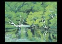 mountain lake by suzuhiko kawasaki