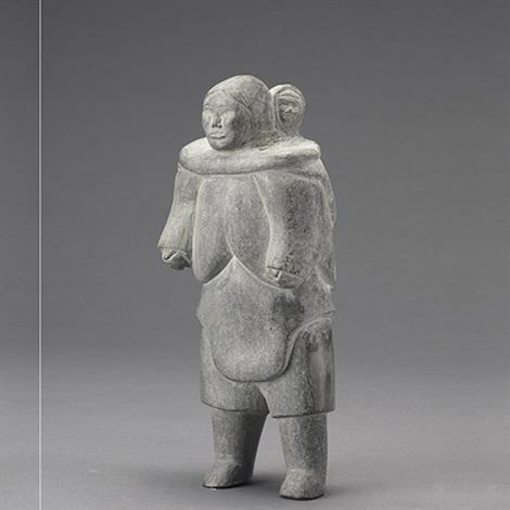 mother and child by yvonne kanayuq arnakyuinak
