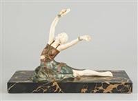 danseuse au tambourin by samuel lipchytz