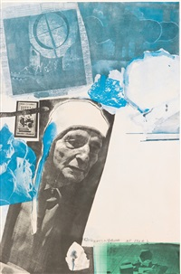 homage to frederick kiesler by robert rauschenberg