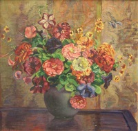 floral still life by anne gregory ritter