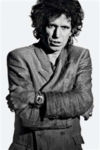 keith richards by claude gassian