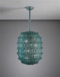large lantern by seguso vetri d'arte (co.)
