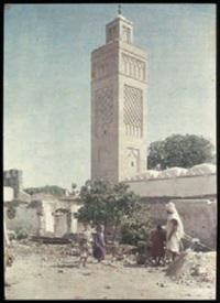 tunisie: rue et mosquée (+ mosquée et enfants; 2 works) by jules gervais courtellement
