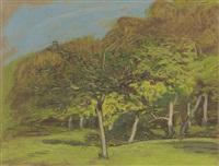 arbres fruitiers by claude monet