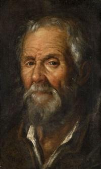 Tête de vieil homme, 1600–1625
