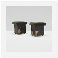 stools model pe 35 (pair) by paul evans