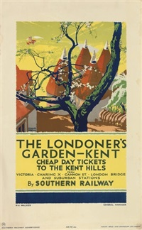 kent - the londoner's garden (poster) by gregory brown