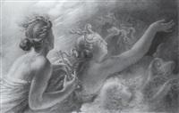 l'apothéose des héros by hyacinthe louis victor aubry-lecomte