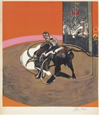 study for a bullfight no. 1 by francis bacon