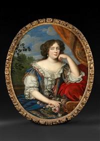 portrait présumé d'hortense mancini by henri gascars