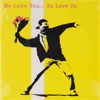 we love you... so love us lp by banksy