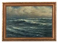 atlantic seascape by carl kenzler