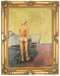 nude in the bedroom by felix albrecht harta