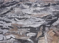 dryland farming #13, monegros county, aragon, spain by edward burtynsky