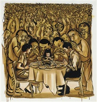 dinner prayer by nicole eisenman