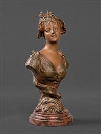 girl's bust by henri godet