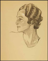 portrait of a woman by lilias torrance newton