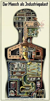 der mensch als industriepalast (+ 2 others, irgr; 3 works) by fritz kahn