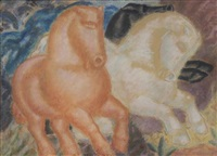 horses by leo gestel