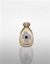 rare con fiori vase by fulvio bianconi