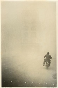 paris (man on motorcycle) by robert frank