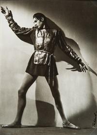 danseur by maurice tabard